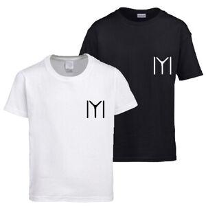 Kids new Ertugrul Kayi Tribe Chest white Graphic print short sleeve t-shirt/Tee
