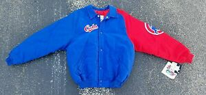 Chicago Cubs Jacket Vintage 90s Starter Jacket Youth Large ( VERY RARE ) Rizzo