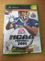 NCAA Football 2005 and Top Spin Combo Pack Microsoft Xbox Video Game