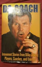 Mike Ditka Signed Book DA COACH Autographed Chicago Bears