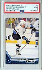 2005 Upper Deck #2 Alexander Ovechkin Rookie PSA 9 Mint Washington Capitals