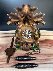 German Cuckoo Clock Parts or Repair, AS IS Needs Repair