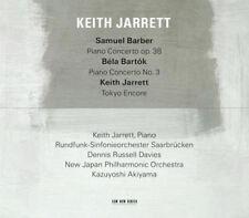 Keith Jarrett : Keith Jarrett: Samuel Barber: Piano Concerto, Op. 38/... CD