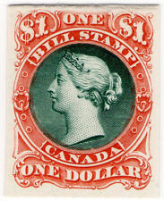 (I.B) Canada Revenue : Bill Stamp $1 (Printer's Proof)