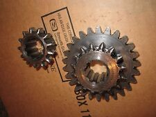 IH Cub Lo Boy 154 TRANSMISSION 2ND/3RD AND 1ST/REVERSE GEARS  -  185