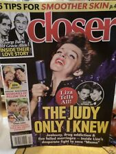 Closer Magazine - November 4,  2019 - Judy Garland - Doris Day - Rock Hudson