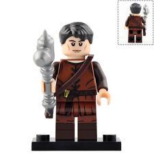 Lego Castle PEASANT FAMILY Kingdoms Blacksmith Maid Boy Farmer Pitchfork NEW