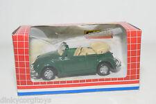 EDOCAR SUPER SERIES VW VOLKSWAGEN BEETLE KAFER CABRIOLET GREEN MINT BOXED
