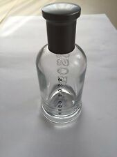 EMPTY HUGO BOSS PERFUME GLASS BOTTLE 3.3OZ 100ML