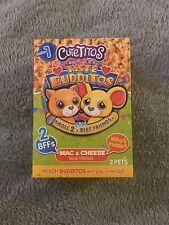 1 New Cutetitos Taste Budditos MAC & CHEESE Mini Best Friends 2 Pack BFF's NEW