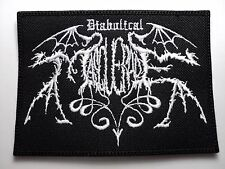 DIABOLICAL MASQUERADE     EMBROIDERED  PATCH