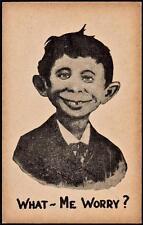 Old Print. Alfred E Neuman - pre Mad Magazine