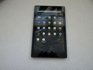 Amazon kindle Fire HD10 7th generation in Blue