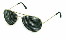 Metall-Rasterbrille 420-PGP, quadratischer Raster