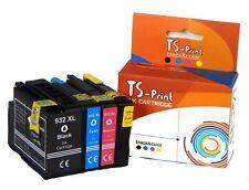 TS-Print Set Patronen ersetzt HP 932 XL & 933 XL OfficeJet 6100 6600 6700 7110