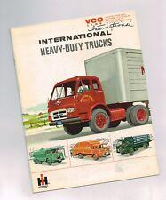 1961? INTERNATIONAL TRUCK HEAVY DUTY Brochure: VCO-190,200,220,VCOF-190,Cab Over
