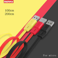 REMAX Micro USB 2.4A Fast Speed Charger Charging Data Cable For Android Samsung
