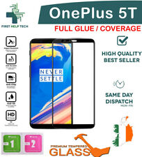 For OnePlus 5T 1+5T Tempered Glass 9D Curved Screen Protector Full Coverage New