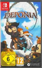 Deponia-Nintendo switch-nuevo embalaje original & - versión en alemán