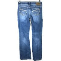 Silver Jeans Womens 27 x 33 Aiko Bootcut Medium Wash Stretch Actual 28 x 32