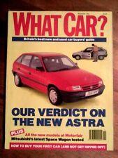 November What Car? Cars, 1990s Transportation Magazines