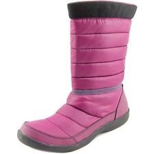 Botas de mujer de tacón bajo (menos de 2,5 cm) de lona talla 38