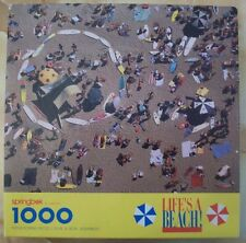 Springbok Puzzle Life's a Beach! 1000 Pieces Complete Surfboards 1990