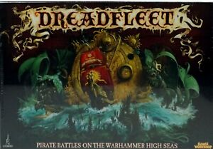 Warhammer Fantasy: Dreadfleet Box Board Game (Sealed New) 2011 by Games Workshop