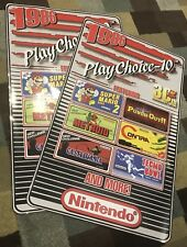 PlayChoice 10 Arcade Side Art 30th Anniversary Artwork Overlay CPO Nintendo