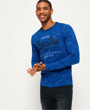 Superdry Mens Premium Goods Duo Long Sleeve T-Shirt