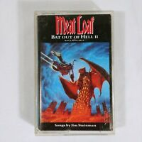 Meat Loaf Cassette Bat Out Of Hell 1993 Rock Music Band