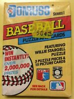 Sealed Vintage 1991 Donruss Baseball Card Wax Pack Series 1