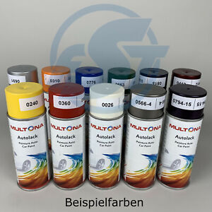 Multona Autolack Spray 400ml Farbspray Lackspray Lackdose Graffiti Farben ab0600