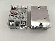 1PCS SSR-100DA Manufacturer 100A ssr relay,input 3-32VDC output 24-380V