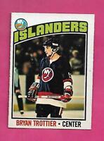 1976-77 OPC # 115 ISLANDERS BRYAN TROTTIER  ROOKIE EX-MT  CARD (INV# D0773)