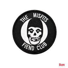 MISFITS FIEND CLUB EMBROIDERED PATCH - horror punk chrimson ghost danzig samhain
