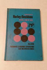 Vintage Chilton's Harley-Davidson Glide/Sporter Repair Manual