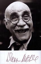 Warren Mitchell, Alf Garnett Autograph Signed Photo Preprint 10x8 Portrait