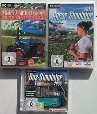 Agro Simulateur historique machines agricoles + Agro 2012 + Bus Collection Jeux PC