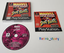 Sony Playstation PS1 - Marvel Super Heroes VS Street Fighter - PAL