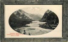 C-1910 Frame like Canadian Rockies Glosso Series Canada Pnc postcard 9383