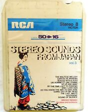 CARTRIDGE TRACK TAPE CASSETTA STEREO 8 SOUNDS FROM JAPAN VOL.3 HIROSHI IWASAKI