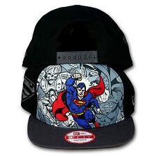 Original NEW ERA - 9FIFTY SNAPBACK CAP Superman Hero Break Out
