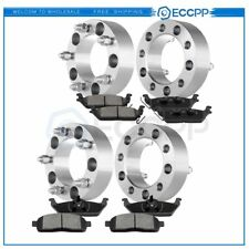 ECCPP 4Pcs Wheel Spacers Front and Rear Ceramic Disc Brake Pads For Ford F-150