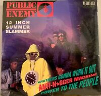 "PUBLIC ENEMY - BROTHERS GONNA WORK IT OUT 12"" ORIG '90 DEF JAM - FACTORY SEALED"