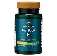 SWANSON Natural Vitamin E from Non-GMO Sunflower Oil - NEW, UK