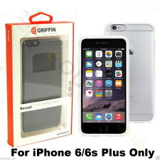 Griffin Reveal Ultra Slim Bumper Case for iPhone 6 Plus White - Clear GB40031