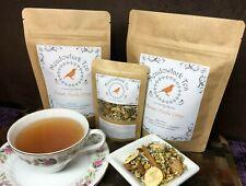 Honey Apple Crisp Real Fruit-Infused Herbal Loose Leaf Medicinal Tea Blend Drink