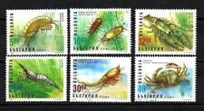 Bulgarie 1996 Crustacés (85) Yvert n° 3682 à 3687 oblitéré used