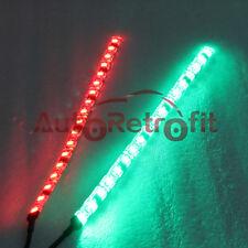 12'' Bow LED Red&Green Navigation Light Strips, LED Strip Lights for Marine Boat